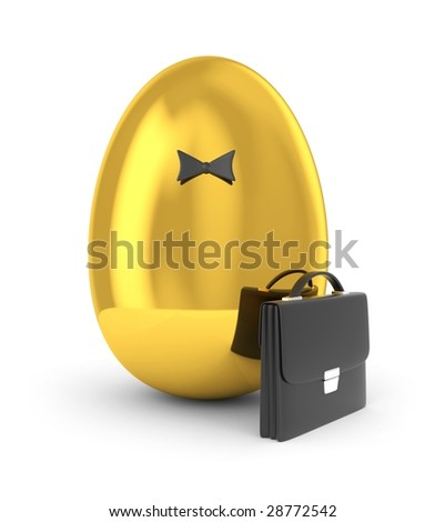 Born of New business. Symbolize new business - stock photo