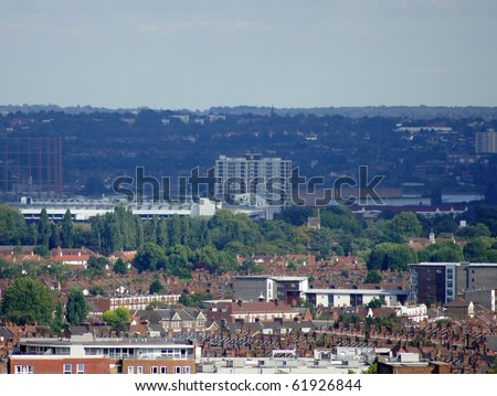 boroughs of London. - stock photo