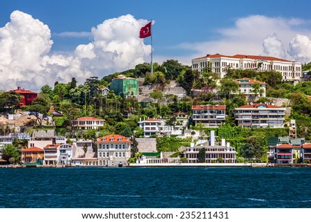 Bosphorus, Istanbul, Turkey - stock photo