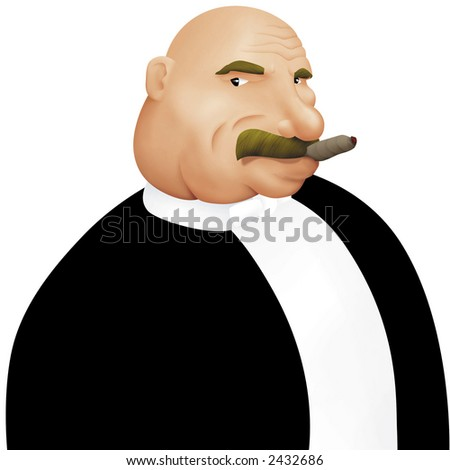 boss - stock photo