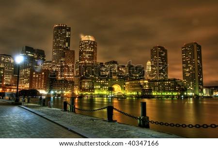 Boston. - stock photo