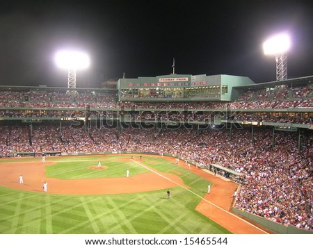 Boston's Fenway Park - stock photo