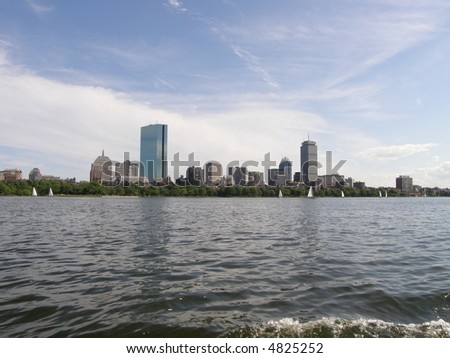 Boston's Skyline - stock photo