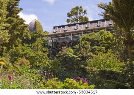 Botanic House in Wellington, New Zealand - stock photo