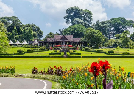 Botanical Gardens Kebun Raya Bogor West Stock Photo (Download Now ...
