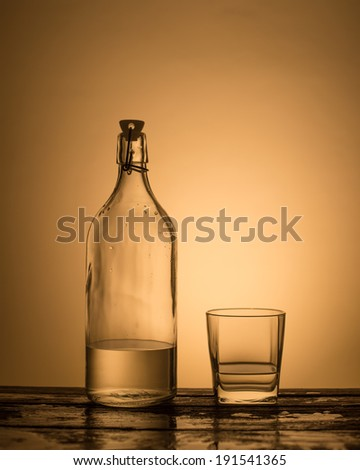 Bottle and drink