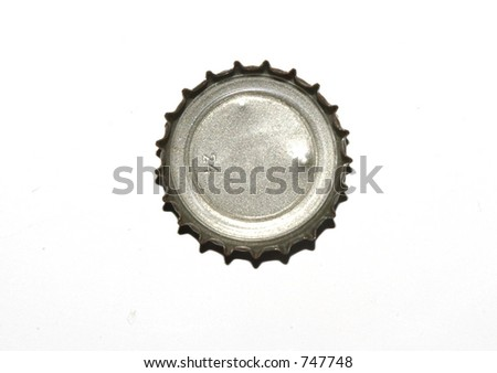 bottle cap - stock photo