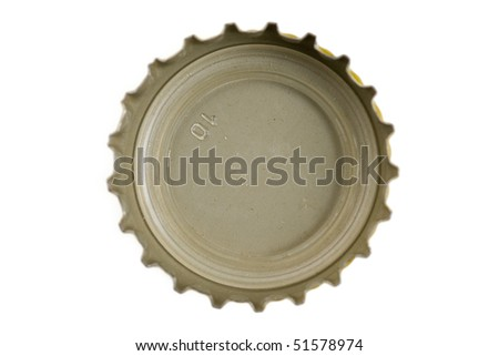 Bottle Cap close up shot