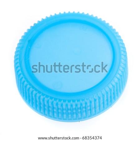 bottle cap isolated on a white background - stock photo
