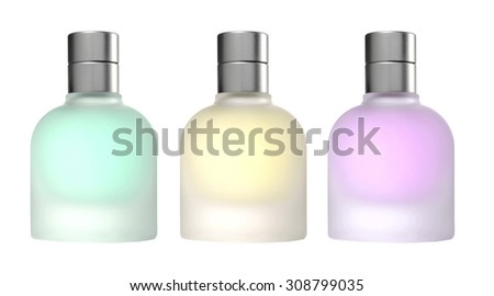 Bottle. Isolated on a white background. - stock photo