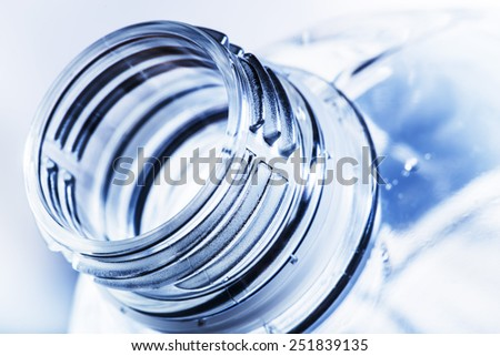 bottle neck on blurry background  - stock photo