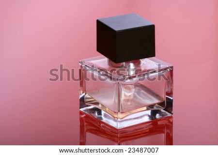Bottle of a perfume for women