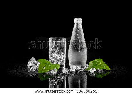 Bottle of Drinking Water - stock photo