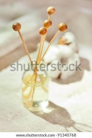 bottle of herbal essenses - stock photo