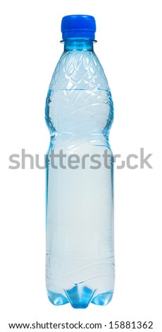 Bottle of water (With Clipping Path)