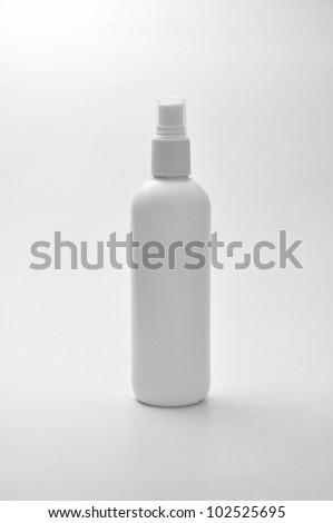 bottle on white background - stock photo