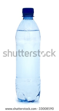 bottle with water