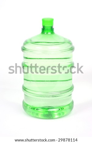 bottled water for a water cooler - stock photo