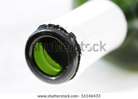 bottleneck - stock photo