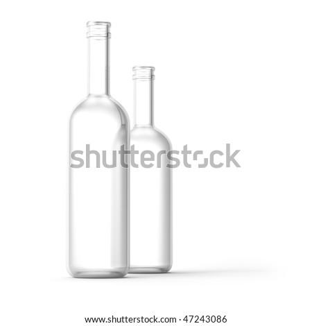 Bottles - stock photo