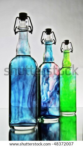 Bottles - stock photo