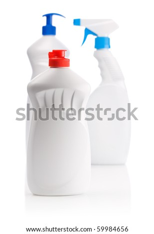 bottles for kitchen cleaning