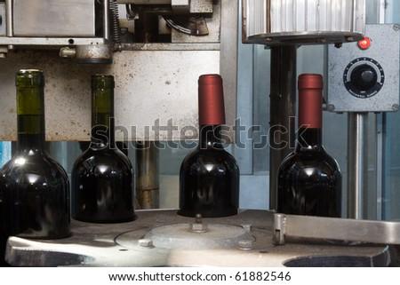 bottling - stock photo