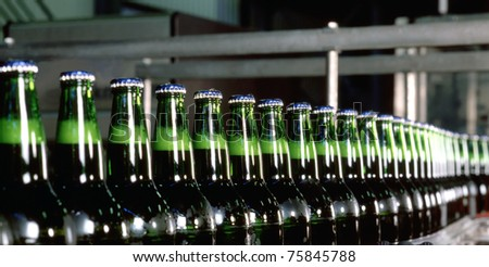Bottling equipment