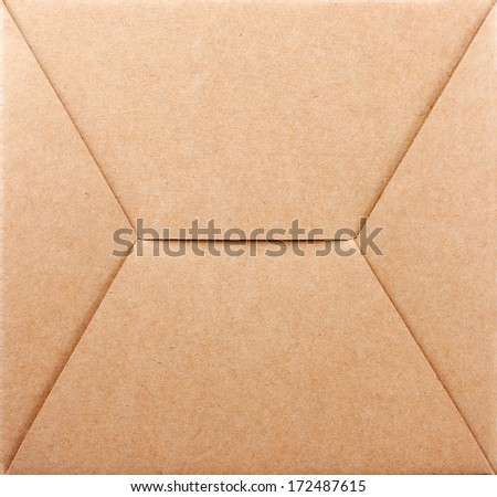 Bottom of packaging box background - stock photo