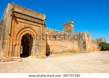 Boulaouane Kasbah,  Doukkala-Abda region of Morocco - stock photo