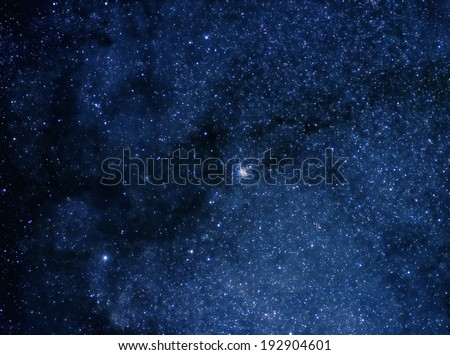 Boundless space - stock photo