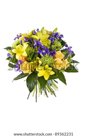 bouquet of flowers - stock photo