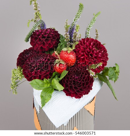 Bouquet of flowers for children