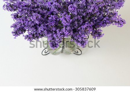 Bouquet of lavender. - stock photo