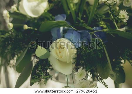 bouquet of pink rose gentle tones  beauty - stock photo