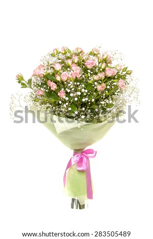 bouquet of rose - stock photo