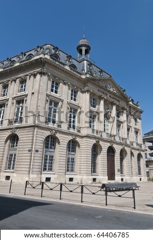 Bourse Maritime building located at Bordeaux, France - stock photo