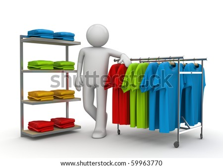 Boutique consultant - Workers collection - stock photo