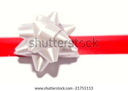 Bow and ribbon