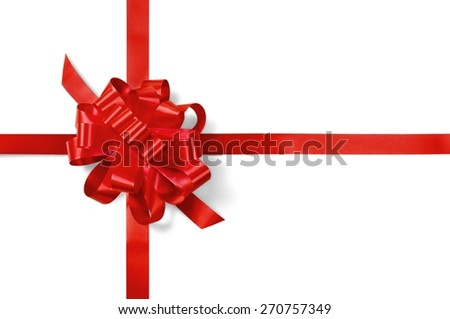 Bow, gift, ideas. - stock photo