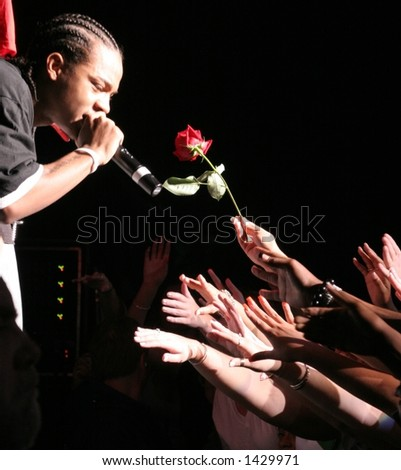 "Bow Wow, Jam'n 94.5 ""Summer Jam""  June 3rd, 2006, Tweeter Center, Mansfield, MA - stock photo"