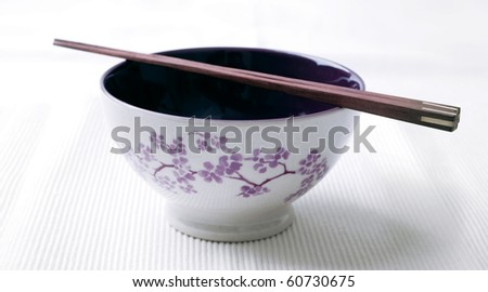 bowl and chopstick