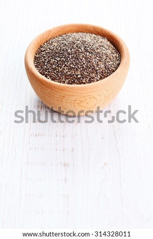 bowl full of chia seeds - food and drink