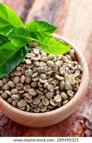 bowl full of coffee beans - coffee time - stock photo