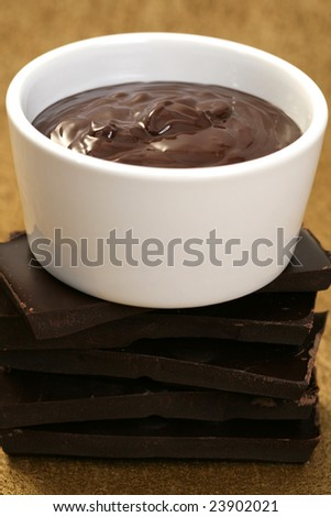 bowl of hot chocolate - food and drink