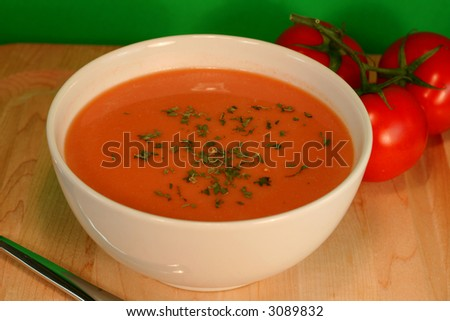 Bowl of Tomato Soup