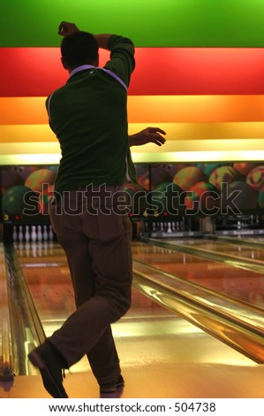 bowling #4 - stock photo