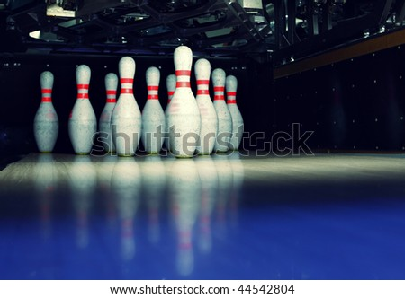Bowling Lane Stock Photos, Royalty-Free Images & Vectors ...