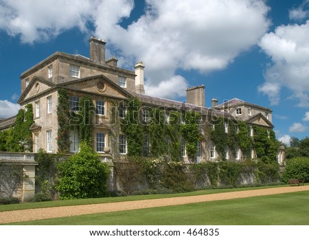 Bowood House in Wiltshire England - stock photo