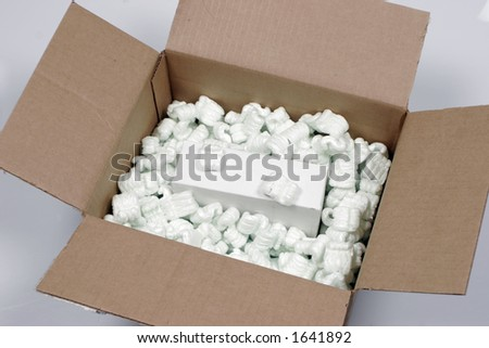 Box and packaging - stock photo
